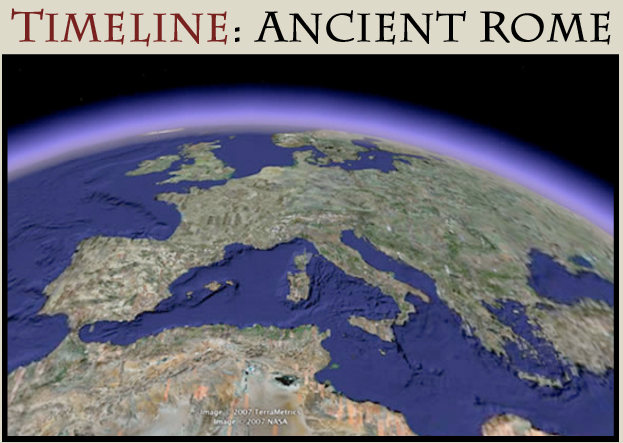 Provides a chronological index of the history of Ancient Rome with extensive